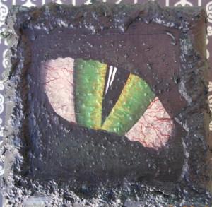 Sculpted Swamp Monster Box