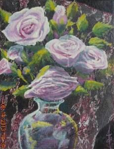 8x1o Acrylic on canvas