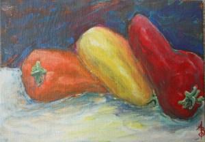 5x7 acrylic on canvas panel